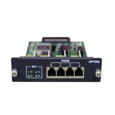 Mодуль 4 порта FXS для шасси AP3100P