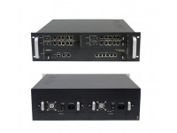 VoIP шлюз VoiceFinder AP-MG5000, 3x4E1(ISDN PRI)&1x10/100Mbps Eth, 2x1G/6x10(100)Mbps ETH