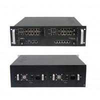 VoIP шлюз VoiceFinder AP-MG5000, 4x4E1(ISDN PRI)&1x10/100Mbps Eth, 2x1G/6x10(100)Mbps ETH