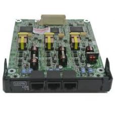 6-портовая плата аналоговых внешних линий (LCOT6) для АТС Panasonic KX-NS500