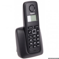 Радиотелефон DECT Gigaset A116, черный