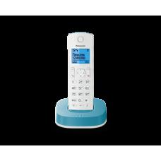 Радиотелефон DECT Panasonic KX-TGC310RU, белый с голубым