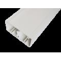Кабельный канал с крышкой 100х50х2000мм (белый), аналог Legrand 30038