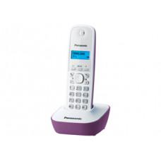 Радиотелефон DECT Panasonic KX-TG1611RU, сиреневый
