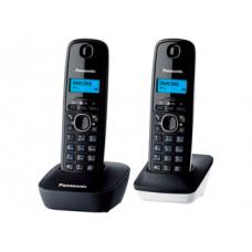 Радиотелефон DECT Panasonic KX-TG1612RU, серый/белый